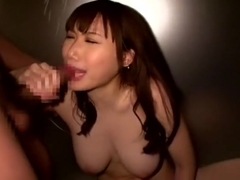 Incredible Japanese model Honomi Uehara in Crazy Big Tits, Masturbation JAV movie