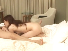 Hottest Japanese chick Miu Moritani in Amazing Couple, Small Tits JAV movie