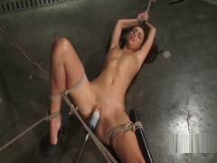 katie jordin sex machine bondage