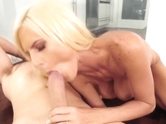 Ac repairman bangs huge tits blonde babe