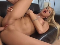 Spunk is left dripping after Natalli Di Angelo fuck the cock to its rocks