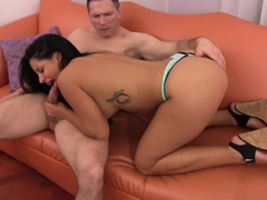 Missy Maze Pulls Out Huge Cock Of Asscrack Addict, And