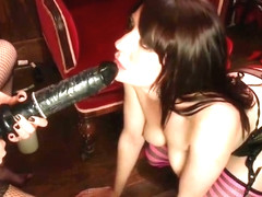 Lesbian porn video featuring Samantha Bentley and Casey Calvert
