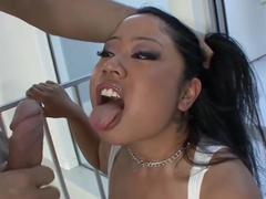 My Chubby Asian Stepdaughter Kya Tropic Hammered By My Cock