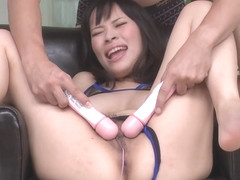 Kyouko Maki pussy gets worked by s - More at Pissjp.com