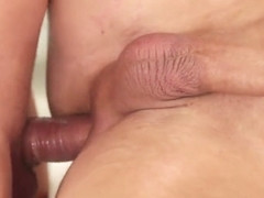 Anally Fucked Stud Gets Jizzed On Ass