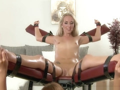 Czech Ticklish Girls - Tickled, oiled and naked Jenny Simons