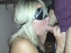 Just voracious blonde nympho cant stop sucking stiff dick