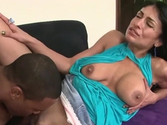 Milf Persia Pele's Excitement Over Big Black Cock
