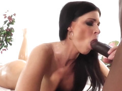 India Summer has steamy interracial massage
