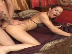 Lucy Belle Gets Fucked Hard In The Ass By David Perry And Li