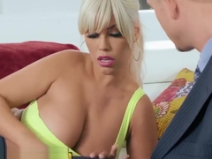 Brazzers - Dirty blonde milf Bridgette B cheats for her husband