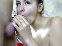 that interfere, too gangbang slave suck penis and facial can not take part