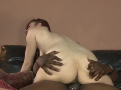 Amazing pornstar Violet Monroe in Horny Redhead, Interracial porn video