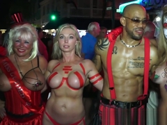 Fantasy Fest Street Flashers Uncensored 4
