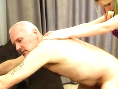 Pervert Ulf Larsen fucked by whore Angel