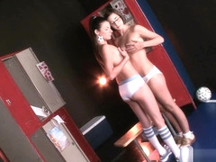 A Look Backstage - Caroline Daily and Peyton Parker - 18Eighteen