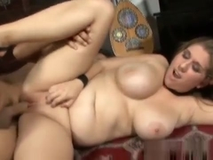 Fat bbw classy plumper fucking on the piano