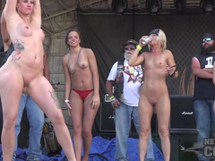 Fully Nude Biker Chick Contest 2nd Day Abate Iowa 2016 - NebraskaCoeds