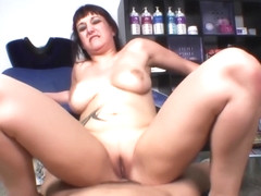 Fucking the ass of slut spanish hairstylist
