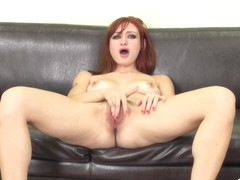 Violet Monroe makes her own pussy wet