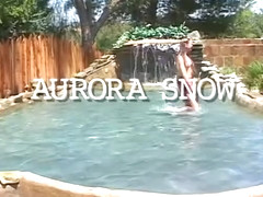 Best pornstar Aurora Snow in incredible dp, outdoor adult movie