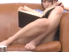 Exotic Japanese girl Saya Tachibana in Crazy Fingering, Swallow JAV video