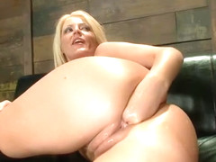 Charming Sophie Dee getting some unusual fetish experience
