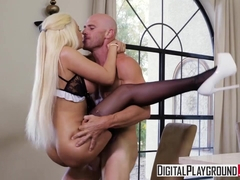 DigitalPlayground - Maid Service with Johnny Sins Luna Star