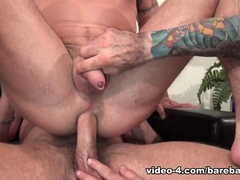 Nick Moretti, Chad Brock and Ben Statham - BarebackThatHole