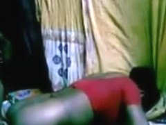 Village married Bhabi fuck in red saree