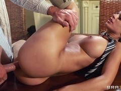 Big Tits at School: Touching the Tutor. Black Angelika, Jay Snake