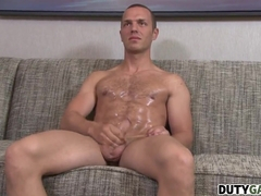 Horny Troop Tyler Marshall Wanks