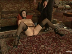 Cherry Torn & Bella Rossi & Maestro Stefanos in Entertaining A Master - TheUpperFloor