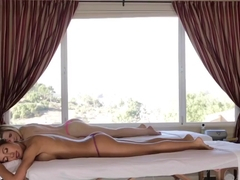Older Masseuse Tasting