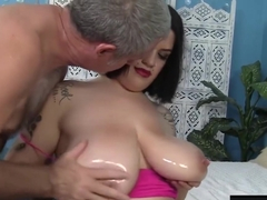 Hot Plumper Marilyn Mayson gets fucked hardcore