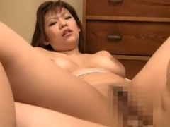 Horny Japanese slut Ryo Sena in Amazing Big Tits JAV clip