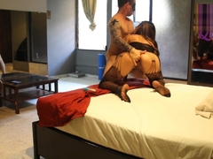 JUICY BOOTY ORGASMIC ANAL FUCK WITH BODY STOCKING