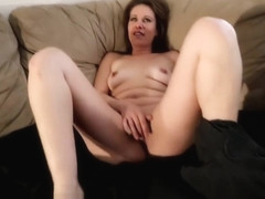 Gorgeous Metis MILF Gets Cum On Her Tits