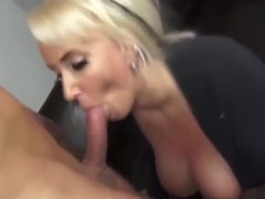 crazy busty milf having a real orgasm with her neighbor