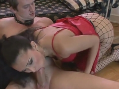 Amazing Nympho Secretary gets a big cock