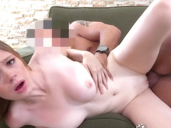 Freckled Mia Colins Fucked By Casting Agent - Mia Collins