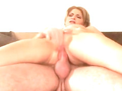 Blonde Gets Her Tight Snatch Ate Otu And Fucked