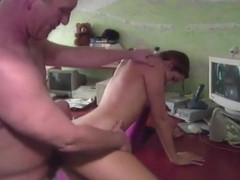 Secretary Gets Naked And Screws The Boss