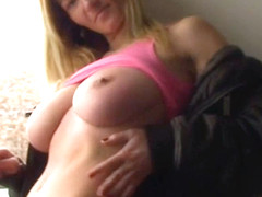 Busty Vanessa Shows Her Body During Her Cigarette Pause - BustyGFsExposed