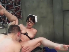 Delightful Dana DeArmond making a kinky fetish performance