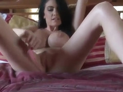 Teenager college-girl Emmanuelle London with hot boobies in cock sucking xxx video