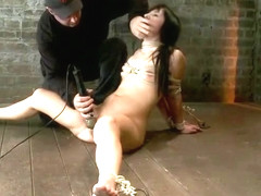 Heavenly Ashli Orion featuring real BDSM action