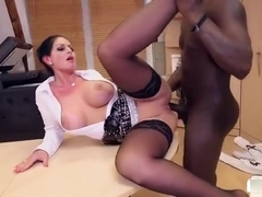 Marvelous experienced woman Vivian Skylight pounded by a black dick