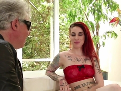 Best pornstars Sheena Rose, Barry Scott in Incredible Redhead, Small Tits sex scene